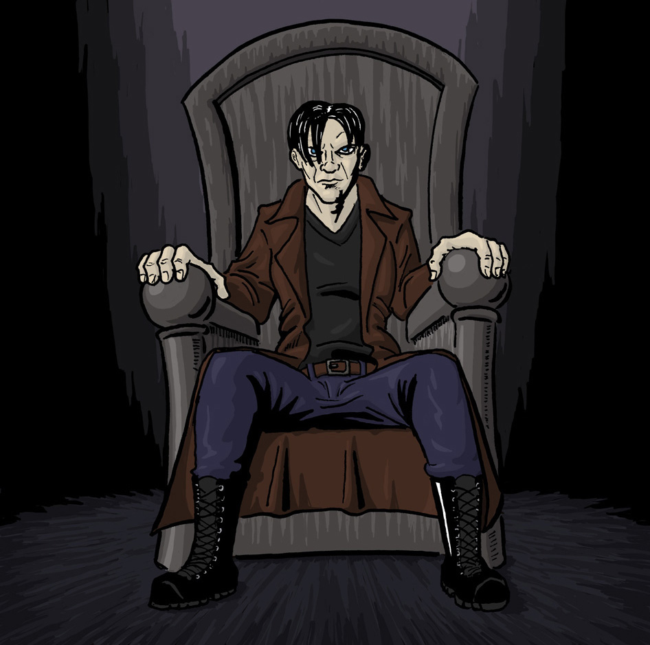 On the Throne